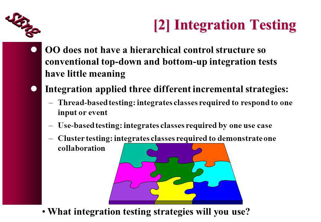 [2] Integration Testing